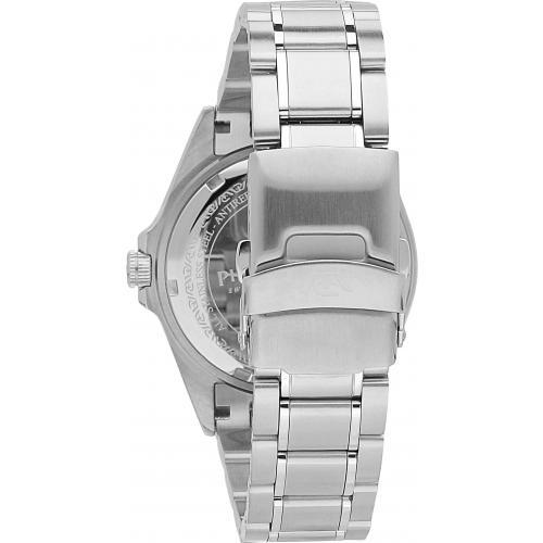 Orologio Uomo Philip Watch Sealion Quarzo 42mm Acciaio Quadrante Nero