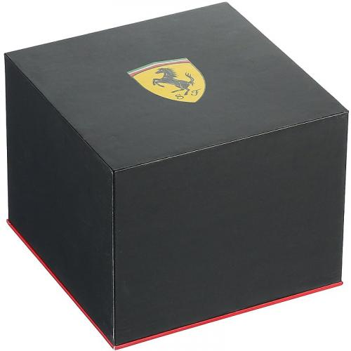 Orologio Uomo Ferrari Speedracer Cronografo 47mm Acciaio PVD Nero