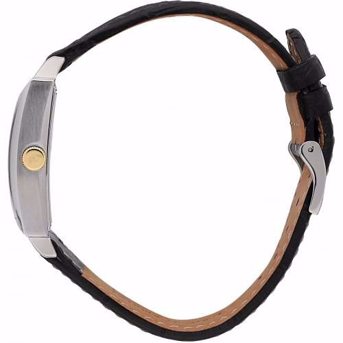Orologio Uomo Philip Watch Newport 30mm Pelle Nero Quadrante Bianco