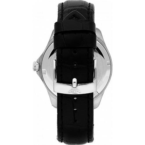 Orologio Uomo Philip Watch Blaze Quarzo 41mm Pelle Nero Quadrante Bianco Opaco