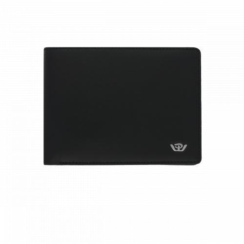 Portafoglio Philip Watch Cuoio Nero con Logo
