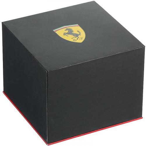 Orologio Uomo Ferrari Pitlane Quarzo 38mm Silicone Rosso