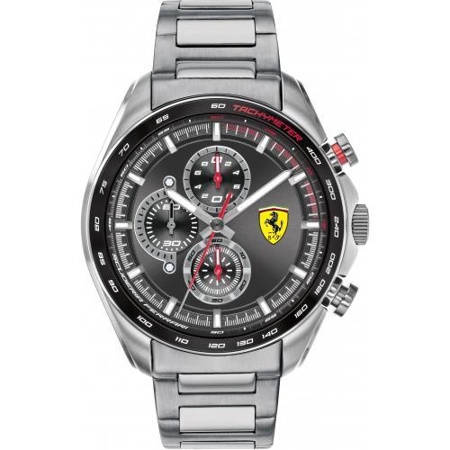 Orologio Uomo Ferrari Speedracer Cronografo 47mm Acciaio