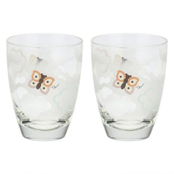 Thun Set 2 Bicchieri Pioggia Di Colori