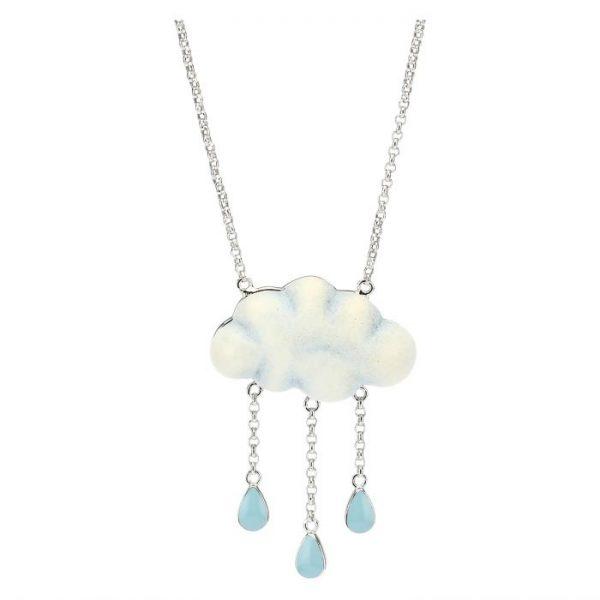 Thun Collana Current Nuvola Pioggia Di Colori
