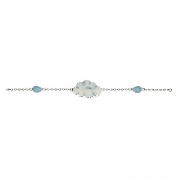 Thun Bracciale Current Nuvola Pioggia Di Colori