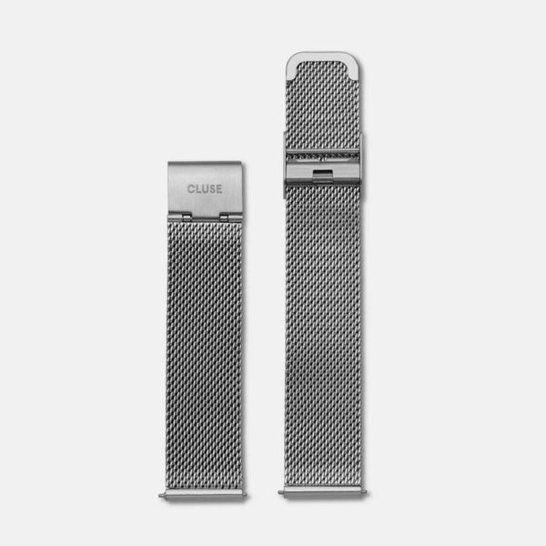 Cinturino Orologio Cluse 18mm Mesh Silver
