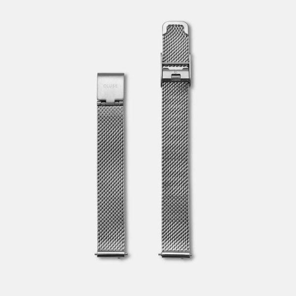 Cinturino Orologio Cluse 12mm Mesh Silver