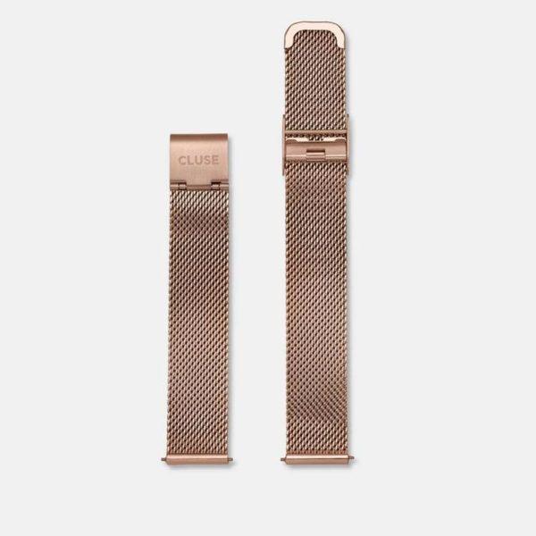 Cinturino Orologio Cluse 16mm Mesh PVD Oro Rosa