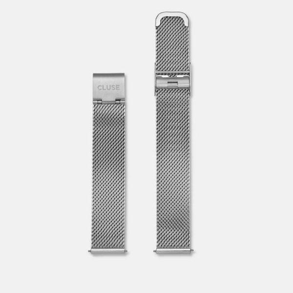 Cinturino Orologio Cluse 16mm Mesh Silver