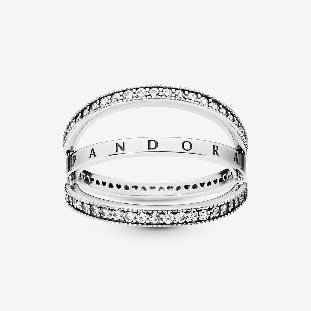 Anello Donna Pandora Giravolta Di Cuori Forever Pandora