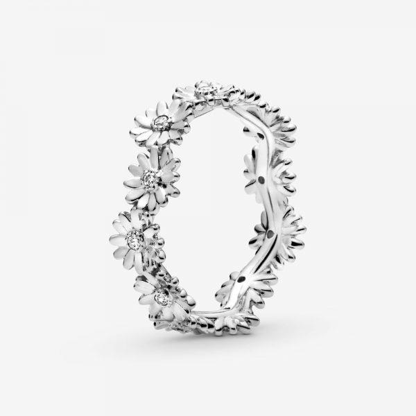 Anello Donna Pandora A Corona Margherita Scintillante