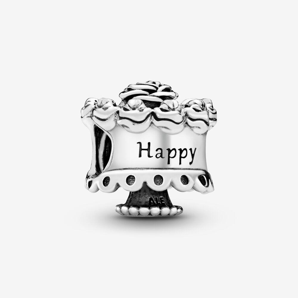 Charm Pandora Donna Torta Di Compleanno