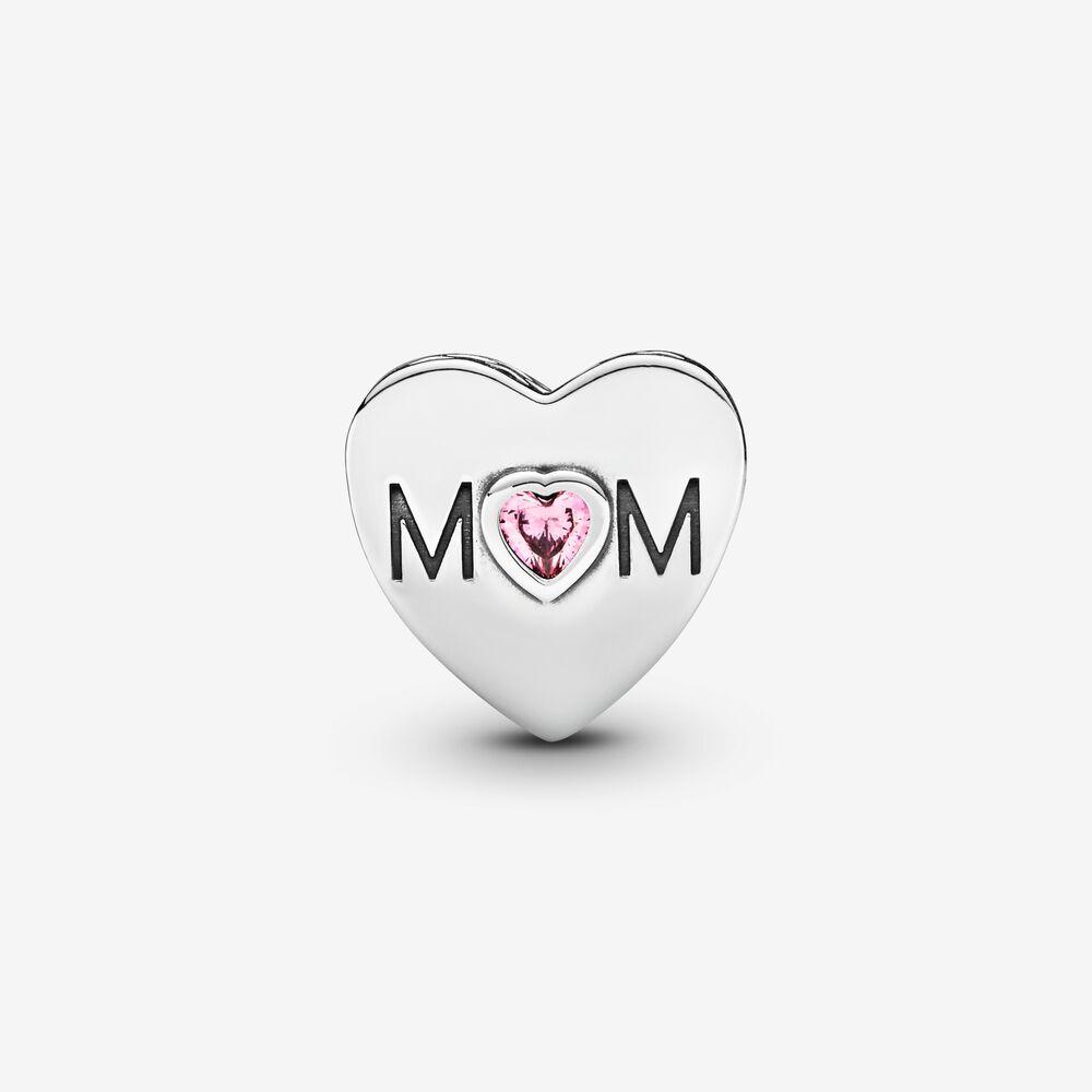 Charm Pandora Donna Cuore Rosa Di Mamma