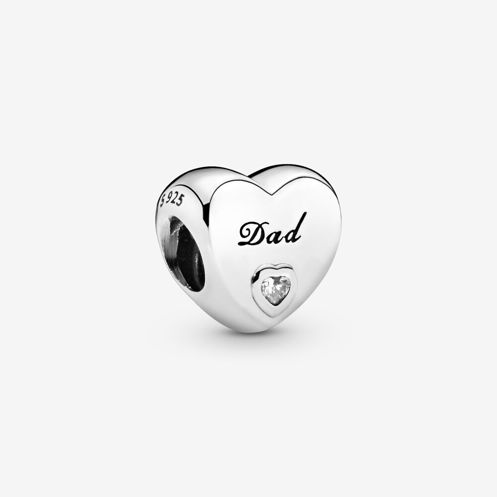 Charm Pandora Donna Cuore Papà