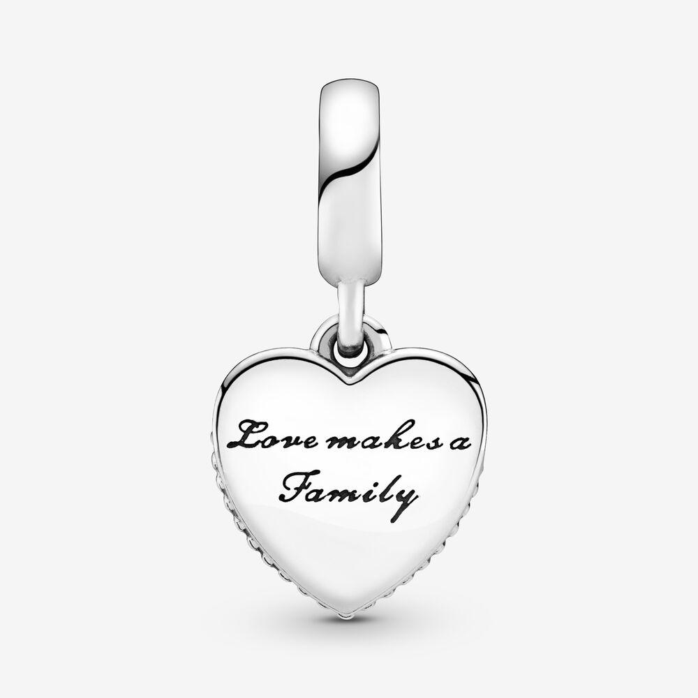Charm Pandora Donna  Pendente Amare Significa Famiglia
