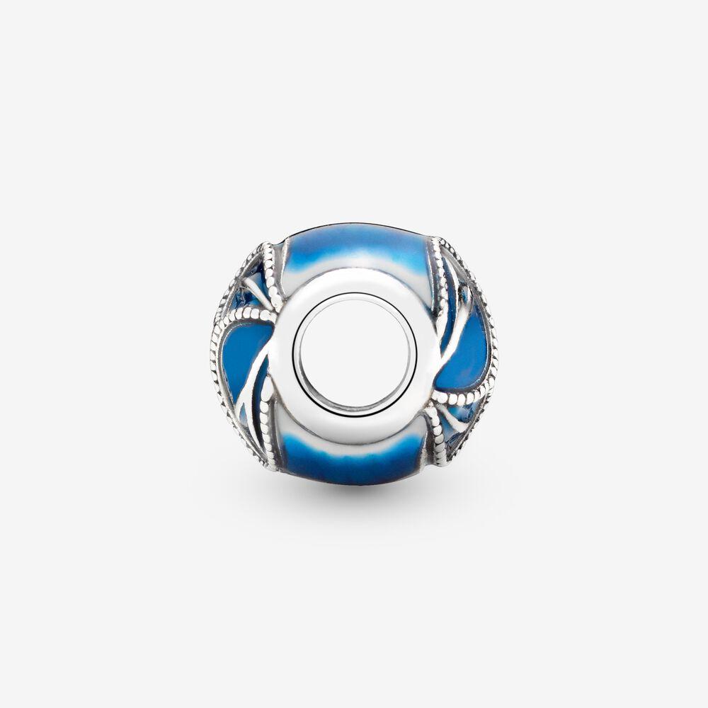 Charm Pandora Donna Ali Di Farfalla Blu