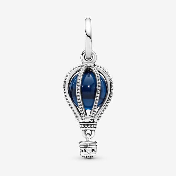 Charm Pandora Donna  Pendente Mongolfiera Blu