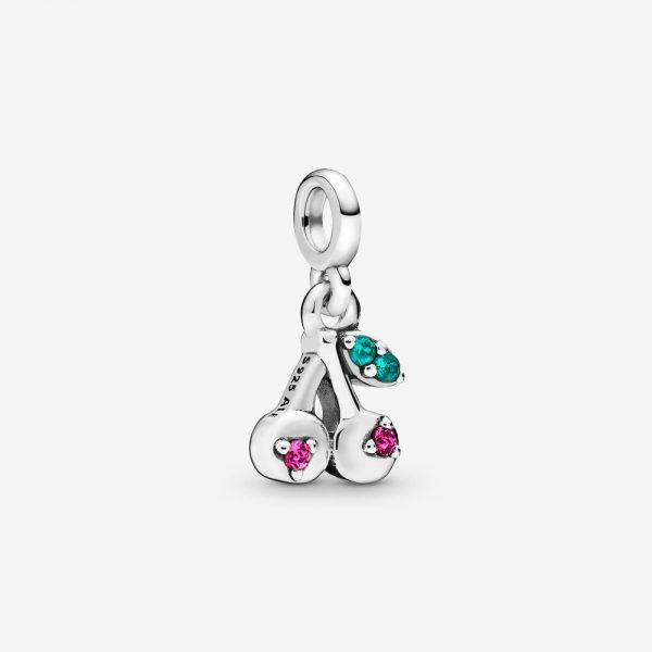 Mini Charm Pendente Donna Pandora Me Le Mie Ciliegie