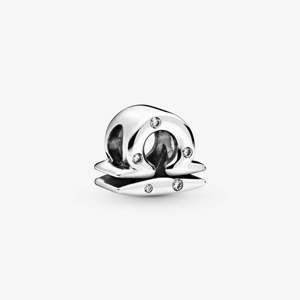 Charm Pandora Donna Zodiaco Bilancia Scintillante