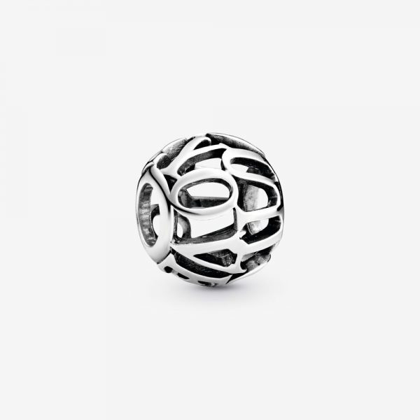 Charm Donna Pandora Openwork I Love You