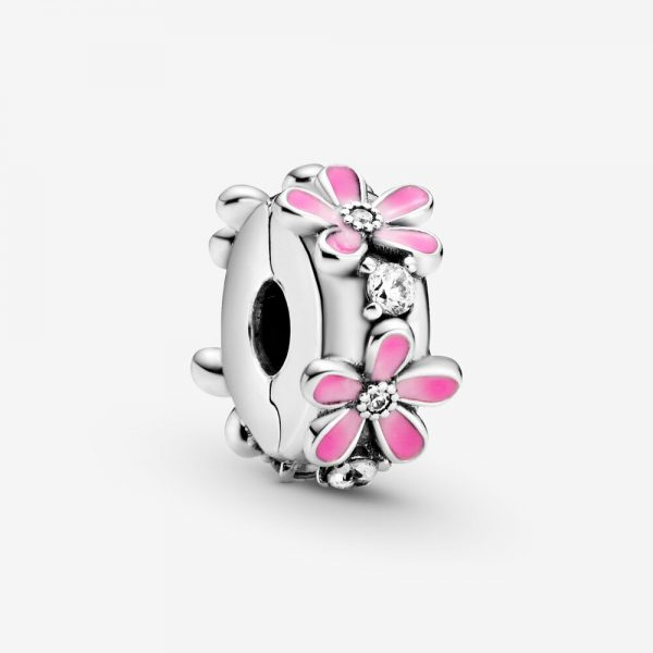 Clip Donna Pandora Margherite Rosa