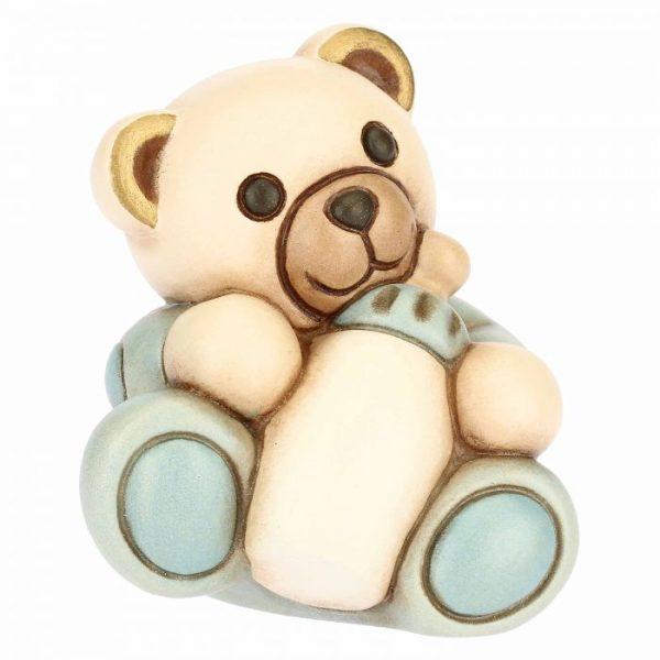Thun Teddy Bimbo Piccolo Con Biberon Personalizzabile