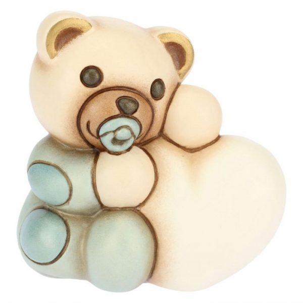 Thun Teddy Bimbo Piccolo Con Cuore Personalizzabile