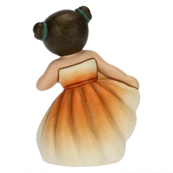 Thun Bimba Ballerina Piccola Con Tutù Arancione