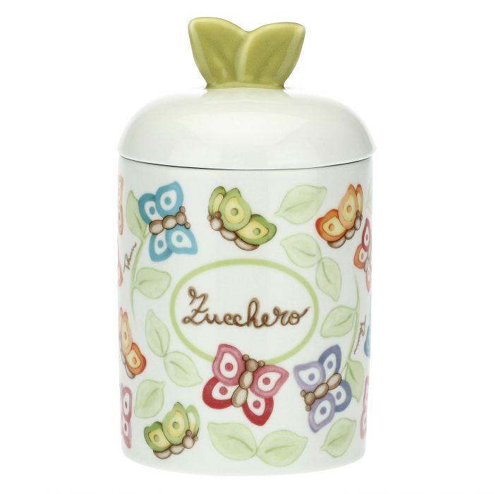 THUN /® Sottopentola in Porcellana Farfalle in Festa