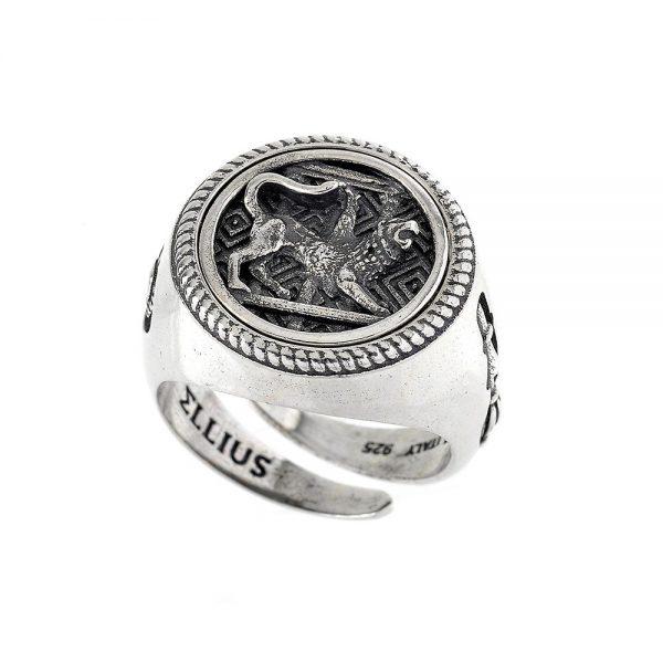 Anello Unisex Ellius Jewelry Chimera Tondo