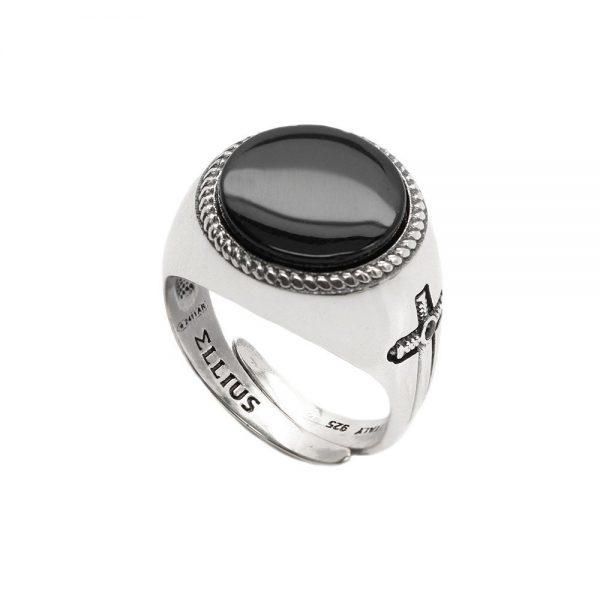 Anello Unisex Ellius Jewelry Gemma Tondo