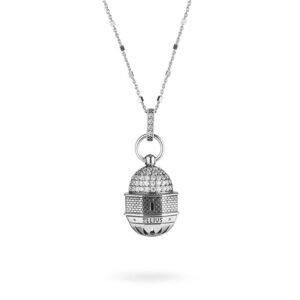 Collana Donna Ellius Jewelry Cupola Edicola dell'Ascensione Gerusalemme lunga