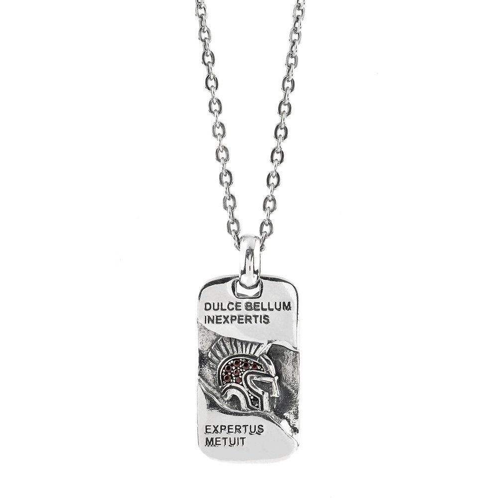 Collana Uomo Ellius Jewelry Frase Latina