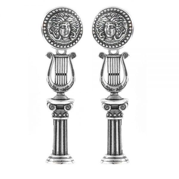 Orecchini Donna Ellius Jewelry Lira Simmetrici