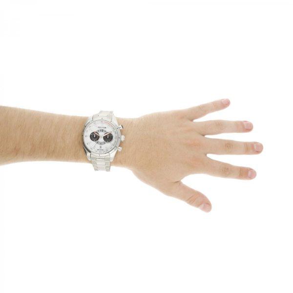Orologio Uomo Sector 330 Collection Cronografo 45mm Acciaio