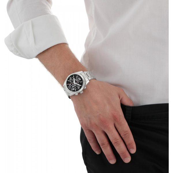 Orologio Uomo Sector 240 Collection 41mm Cronografo Nero