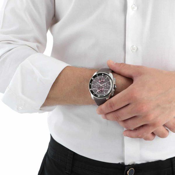 Orologio Uomo Sector 350 Collection Cronografo 45mm Pelle