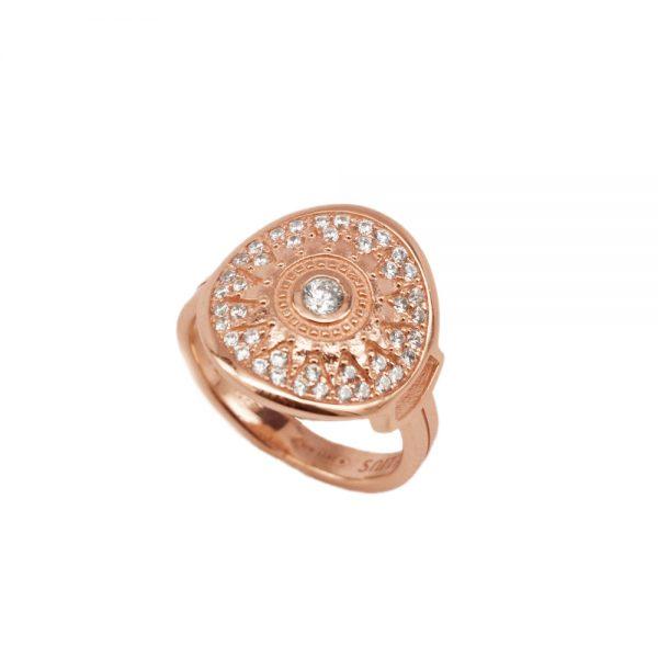 Anello Donna Ellius Jewelry Natività Oro Rosa
