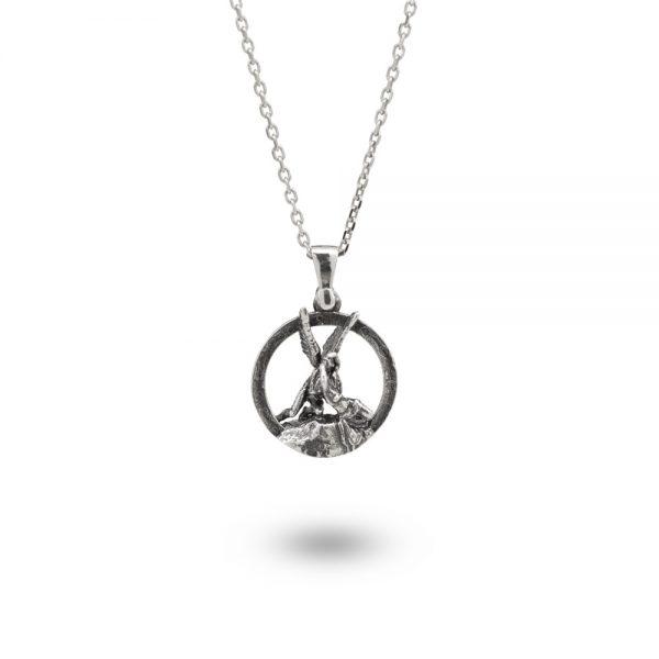 Collana Donna Ellius Jewelry Charm Amore e Psiche