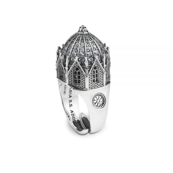 Anello Donna Ellius Jewelry Cupola Maria SS. Addolorata Castelpetroso