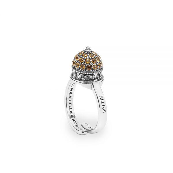 Anello Donna Ellius Jewelry Cupola Minimal della Roccia Gerusalemme