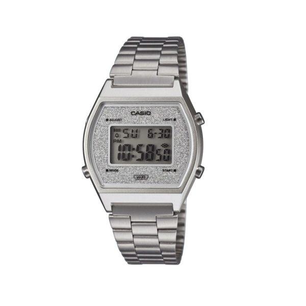 Orologio Donna Casio Vintage Silver Glitterato