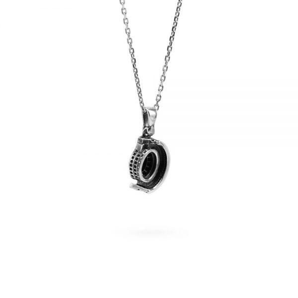Collana Donna Ellius Jewelry Charm Colosseo