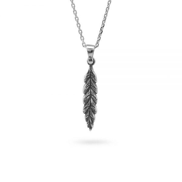 Collana Donna Ellius Jewelry Charm Foglia Alloro