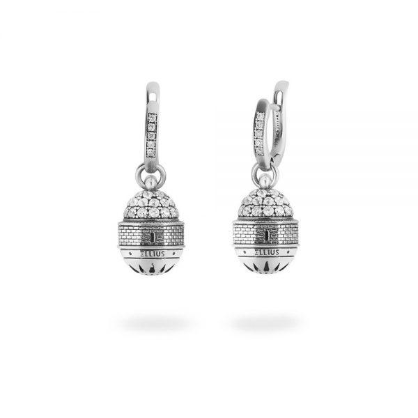 Orecchini Donna Ellius Jewelry Cupola Edicola dell'Ascensione Gerusalemme