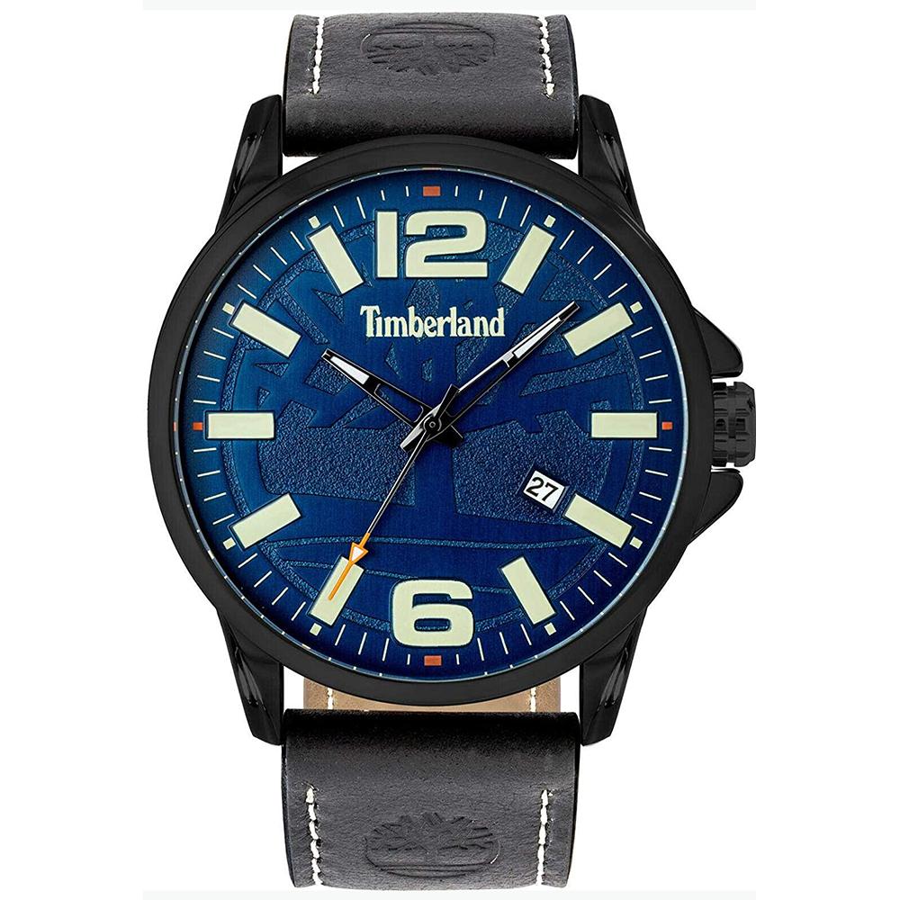 Orologio Uomo Timberland Bernardston Pelle Blu