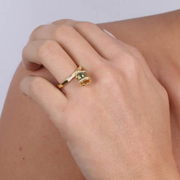 Anello Donna Bysimon Capri Collection Campanella Gold