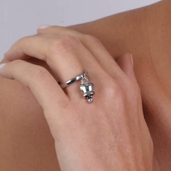 Anello Donna Bysimon Capri Collection Campanella Silver