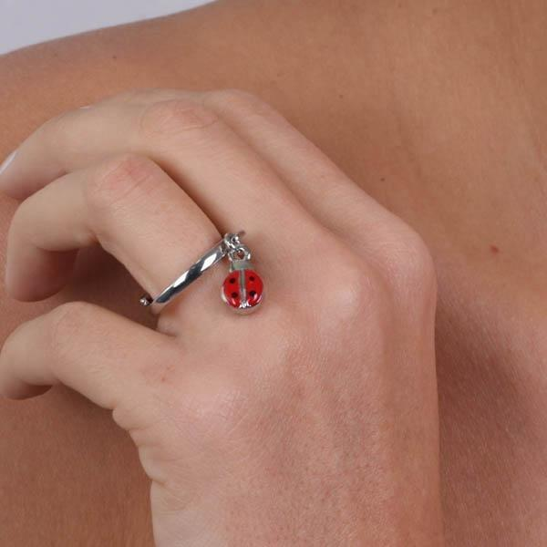Anello Donna Bysimon Capri Collection Coccinella